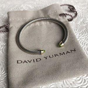 David Yurman | Cable Bracelet In Peridot